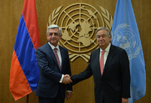 RA President meets with UN Secretary-General