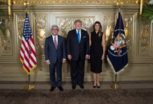 President Serzh Sargsyan attends U.S. President-hosted reception