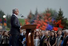 Address by President Serzh Sargsyan on Independence Day