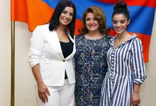 ՀՀ առաջին տիկինն ընդունել է «Նոր ալիք 2017» մրցույթի հայաստանյան ներկայացուցիչներին