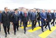 Президент Серж Саргсян принял участие в церемонии открытия нового пограничного КПП Бавра