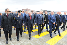 President Serzh Sargsyan attends opening of refurbished Bavra border checkpoint