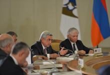 Statement by President Serzh Sargsyan at the meeting of the Supreme Eurasian Economic Council