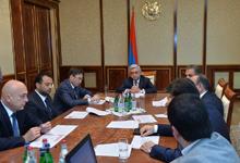 President introduced to Armenian technological university establishment concept