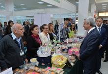 President visits ArmProdExpo agricultural exhibition