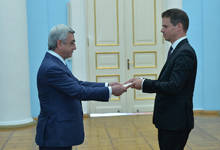 Newly appointed French ambassador hands credentials