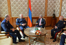 President receives Chairmen of Investigative Committees of Russia and Belarus