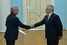 Newly appointed Denmark Ambassador hands credentials to RA President