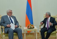 President receives Polish Foreign Minister Witold Waszczykowski