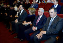 President attends jubilee event on Rafael Kotanjyan's 75th birth anniversary