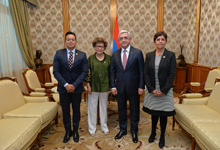 President welcomes members of Mexico-Armenia Friendship Group of Mexico Chamber of Deputies