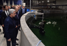 President pays working visit to Gegharkunik Marz of Armenia