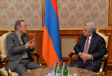 President holds farewell meeting with outgoing Brazil Ambassador
