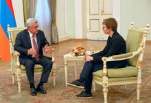 "President Serzh Sargsyan's interview to ""Rossiyskaya Gazeta"""