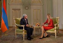 Նախագահ Սերժ Սարգսյանի հարցազրույցը «ՌԻԱ Նովոստի» լրատվական գործակալությանը