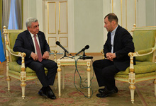 "President Serzh Sargsyan's interview to business portal ""BFM"""