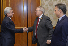 President receives PACE Monitoring Group Co-Rapporteurs for Armenia