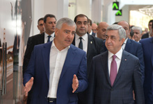 President gets acquainted with Tashir Group's investment program in Armenia