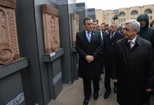 President Serzh Sargsyan's working visit to Russian Federation kicks off