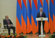 Remarks by President Serzh Sargsyan delivered at the presentation of the Presidential Award for Global Contribution in the Field of Information Technology