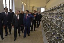 Рабочий визит Президента Сержа Саргсяна в Тавушский марз