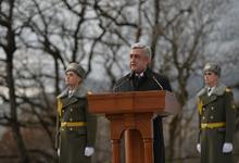 Речь Президента Сержа Саргсяна на церемонии официального открытия военно-спортивного училища имени Монте Мелконяна
