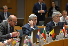 EU Eastern Partnership Summit kicks off in Brussels