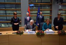 Հայաստանի Հանրապետությունը և Եվրոպական միությունը ստորագրել են Համապարփակ և ընդլայնված գործընկերության համաձայնագիրը