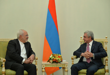 President Receives IRI Foreign Minister Mohammad Javad Zarif