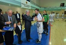 Նախագահը դիտել է ՀՀԿ ֆուտզալի գավաթի առաջնության եզրափակիչ խաղը