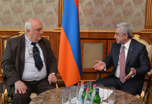President receives Secretary-General of Pugwash Conferences on Science and World Affairs