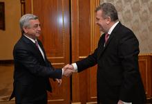 Նախագահը հրաժեշտի հանդիպում է ունեցել Հայաստանում դիվանագիտական առաքելությունն ավարտող Ռումինիայի դեսպանի հետ