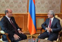 Նախագահը հրաժեշտի հանդիպում է ունեցել Հայաստանում դիվանագիտական առաքելությունն ավարտող Լիբանանի դեսպանի հետ