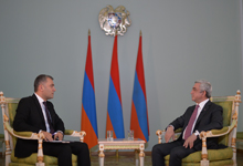 President Serzh Sargsyan's Interview with Armenia TV Channel