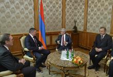 President receives Vologda Region Governor Oleg Kuvshinnikov