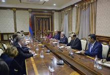 Նախագահն ընդունել է ՀՀ-ԵՄ խորհրդարանական համագործակցության հանձնաժողովի պատվիրակությանը