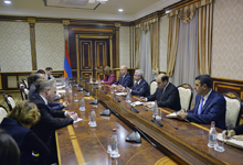 President receives EU-Armenia Parliamentary Cooperation Commission delegation