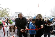Первая леди РА приняла участие в открытии обновлённого детского сада №70