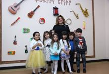 First Lady attends opening of Kindergarten N91