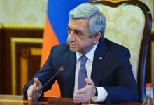 "President Serzh Sargsyan's interview to ""Euronews"" TV channel"