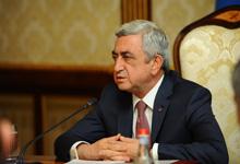 "President Serzh Sargsyan's interview to ""Mir"" TV channel"