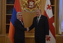 Официальный визит Президента Сержа Саргсяна в Грузию
