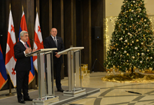 Address by President Serzh Sargsyan to media after meeting with Georgian President Giorgi Margvelashvili