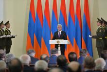 Поздравительная речь Президента Сержа Саргсяна во время вручения Государственных премий РА