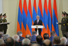 Congratulatory Address by President Serzh Sargsyan delivered at the State Awards Ceremony