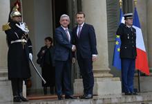 Рабочий визит Президента Сержа Саргсяна во Французскую Республику