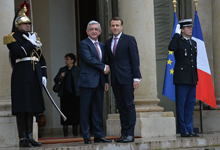 Working visit of President Serzh Sargsyan to French Republic