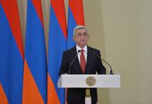 По случаю Дня армии в резиденции Президента состоялась церемония награждения