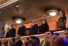 Президент Серж Саргсян присутствовал на праздничном концерте, посвящённом Дню армии