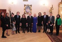 Первая леди РА присутствовала на концерте, посвящённом юбилею Алексея Экимяна